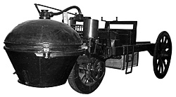 1771 Cugnot steam car