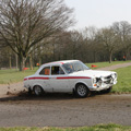 Race Retro Wows Crowds with Sideways Rally Action