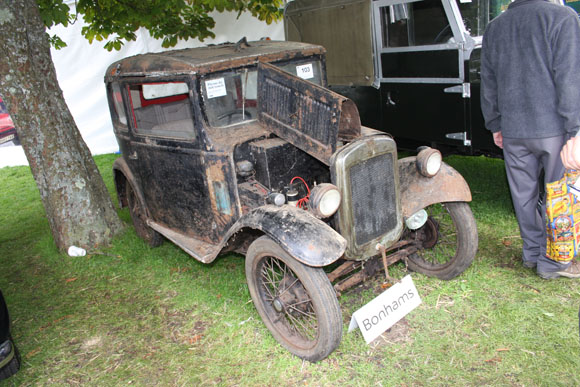 Austin 7 at International Autojumble