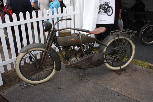 Classic HArley Havidson at Beaulieu International Autojumble 2015
