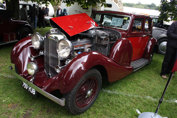 Lagonda at Beaulieu International Autojumble 2015