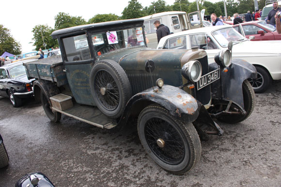 Sunbeam truck at Beaulieu International Autojumble 2015