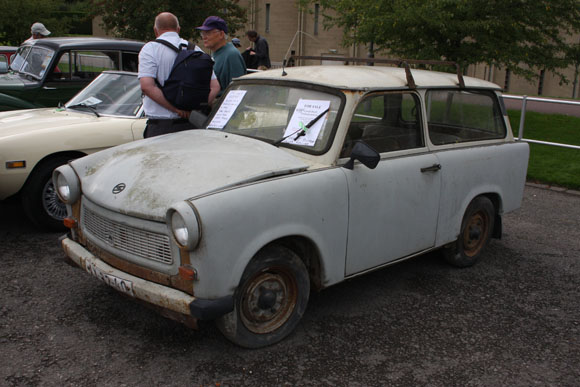 Trabant ready for restoration at Beaulieu International Autojumble 2015